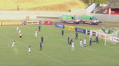 Londrina vence o São Bento pela série C - Tubarão passou pelo time paulista e entrou para o G-4 da competição