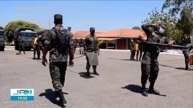 Cerca de 300 homens do Exército reforçam combate a incêndios em locais de difícil acesso - Cerca de 300 homens do Exército reforçam combate a incêndios em locais de difícil acesso