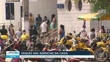 Caixa Econômica abre 14 agências em Rondônia neste sábado, 5 - Abertura foi para atender os beneficiários do auxílio emergencial, pago pelo Governo Federal, e do Saque Emergencial do FGTS.