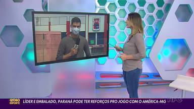 Paraná Clube se prepara para duelo direto - Tricolor encara o América-MG nesta quarta-feira (9) na Vila Capanema