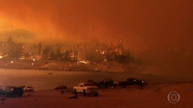 Mais de 900 focos de incêndio atingem Califórnia desde 15 de agosto - Quinze mil brigadistas tentam controlar os 25 focos de incêndio que permanecem ativos. As queimadas se espalharam por toda a Costa Oeste e chegaram também aos estados de Washington e do Oregon.