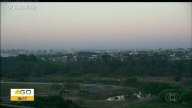 Goiânia amanhece já com 22°C - Veja como fica o tempo no restante do dia.
