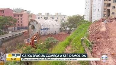 Bom Dia São Paulo - Edição de sexta-feira, 11/09/2020 - Caixa d´água que desabou em Diadema começa ser demolida nesta sexta, Mais de 80 mil peças de roupas falsificadas são apreendidas pela polícia em SP.