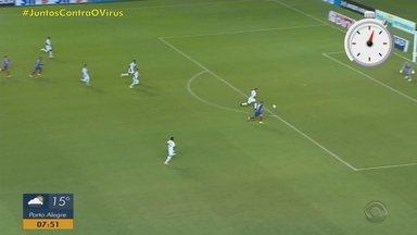 Duple Gre-Nal vence na nona rodada do Brasileirão - Veja os destaques em um minuto.