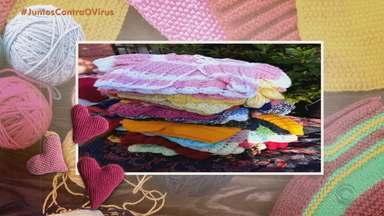 #VocêNoJA: Crochê e tricot fazem parte da vida dos gaúchos - Assista ao vídeo.