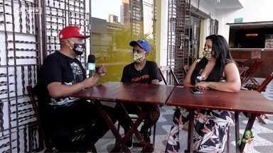 Preto Zezé conversa com o jovem Isaac sobre a vida após o sucesso na internet - O jovem conta sobre sua melhoria de vida e como enfrentou os ataques racistas sofridos nas redes.