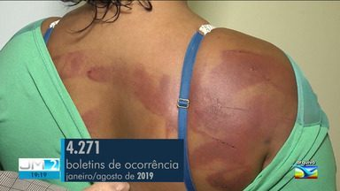 Pesquisa revela que maioria de casos de violência contra a mulher acontecem dentro de casa - A repórter Laís Rocha tem mais informações,