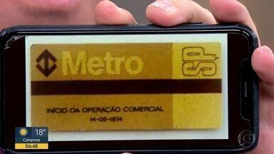 Metrô completa 46 anos em SP - Trecho entre as estações Jabaquara e Vila Mariana foi inaugurado em 1974.