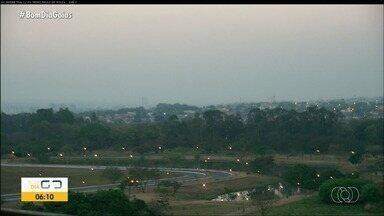 Confira como fica a previsão do tempo para esta segunda-feira (14) em Goiás - Dia deve ser de muito calor.