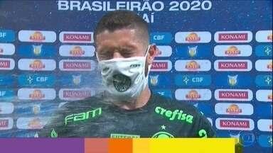 Palmeiras e Sport empatam no Allianz Parque e time alviverde segue invicto no Brasileirão - Palmeiras e Sport empatam no Allianz Parque e time alviverde segue invicto no Brasileirão