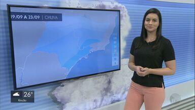 Confira a previsão do tempo para a região nesta terça-feira - Confira a previsão do tempo para a região nesta terça-feira