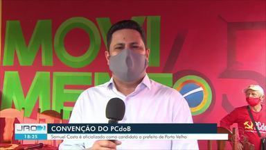 Convenção do PCdoB - Samuel Costa é oficializado como candidato a prefeito de Porto Velho.