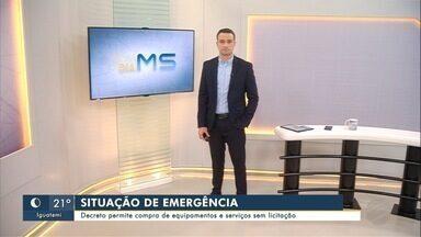 União reconhece situação de emergência em MS pelas queimadas - União reconhece situação de emergência em MS pelas queimadas