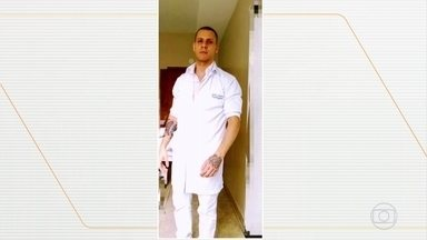 Enfermeiro é baleado na cabeça durante assalto a ônibus no Rio - Luiz Otávio Silva estava voltando do trabalho quando os bandidos anunciaram o roubo, na Avenida Brasil.