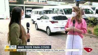 Governo do ES vai testar todos aqueles que tiverem sintomas de gripe - A coordenadora de Vigilância Epidemiológica de Vitória fala sobre o assunto.