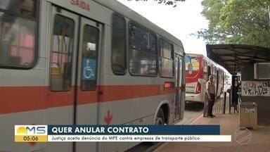 Justiça aceita denúncia do MPE contra empresas de transporte público - Justiça aceita denúncia do MPE contra empresas de transporte público