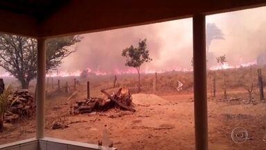 Tocantins já tem mais focos de incêndios do que Mato Grosso do Sul - As queimadas avançam por vários municípios do Tocantins, que também sofre com a falta de brigadistas no combate ao fogo. Das 139 cidades, quase metade não tem brigada de incêndio.