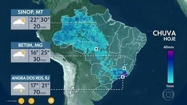 Previsão é de chuva no Sudeste do país no primeiro dia da primavera - Pode gear em regiões da Serra Gaúcha e Catarinense. Veja como será a nova estação em cada região do país.