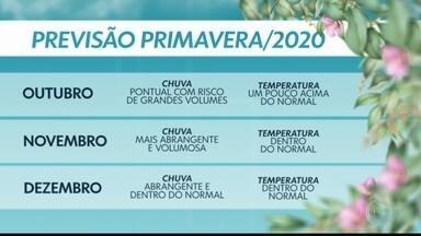 Primavera será mais chuvosa e um pouco mais quente que o normal - Nova estação começa hoje, 22 de setembro. Confira também a previsão do tempo para São Paulo.