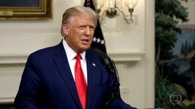 Em discurso, Trump ataca a China e a Organização Mundial da Saúde - No primeiro dia de discursos da Assembleia Geral da ONU, Trump voltou a bater na tecla que a China é culpada por tudo e deixou o coronavírus solto no mundo.