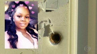 Justiça dos EUA acusa policial envolvido em operação que resultou na morte de jovem negra - Outros dois policiais que dispararam os tiros que mataram Breonna Taylor não foram acusados. Isso levou manifestantes de volta às ruas de Louisville.