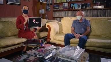 Conheça a história do Araraquarense autor da capa de um dos discos de Frank Sinatra! - Cris Ikeda foi até a cidade conversar com o irmão dele, que conta mais dessa história.