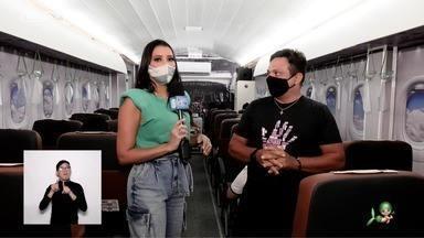 Niara Meirele apresenta o projeto Comunicação nas Alturas - O idealizador Thiago Santana conta sobre o projeto que visa melhorar a comunicação da comunidade surda na aviação