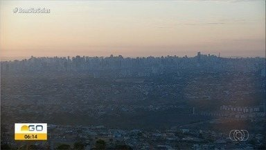 Confira como fica a previsão do tempo para esta segunda-feira (28) em Goiás - Dia deve ser de muito calor.