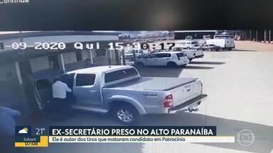 Ex-secretário de Obras, suspeito de matar candidato a vereador, se entrega à polícia - Jorge Marra estava foragido e foi preso após se apresentar na delegacia de Patrocínio, no Alto Paranaíba.