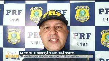 PRF prendeu motoristas embriagados em seis cidades do Piauí - PRF prendeu motoristas embriagados em seis cidades do Piauí
