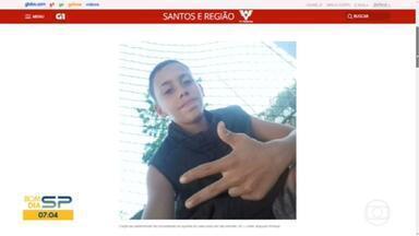 Corpo de adolescente é encontrado enterrado em quintal de uma casa em São Vicente - O menino de 14 anos ficou desaparecido por três dias.