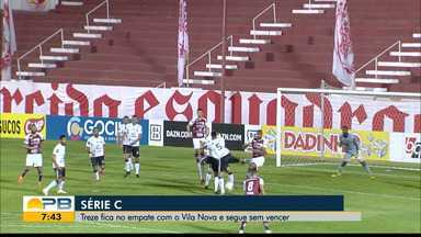 Vila Nova 0 x 0 Treze, pela rodada #8 da Série C - Goianos e paraibanos não saem do zero em jogo no OBA