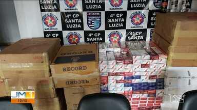 Polícia Militar apreende mercadorias ilegais após acidente em Santa Luzia - A apreensão foi no fim de semana na zona rural do município.