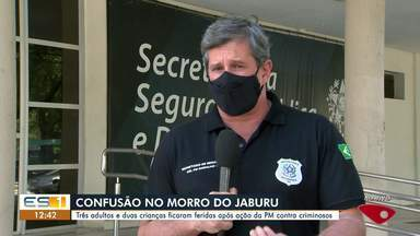 Secretário fala sobre ação da PM em Vitória - Assista a seguir.
