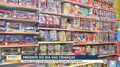 Pesquisa do Procon mostra variação de até 157% no preço dos brinquedos em Campo Grande - Pesquisa do Procon mostra variação de até 157% no preço dos brinquedos em Campo Grande