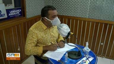 Candidato a prefeito de Petrolina, Dr. Marcos participa de sabatina na Grande Rio FM - O candidato do PSOL foi o primeiro a participar da rodada de entrevistas.