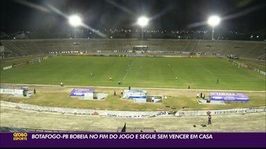 Botafogo-PB empata mais uma, agora contra o Paysandu, na Série C - Duelo acabou igualado em 1 a 1