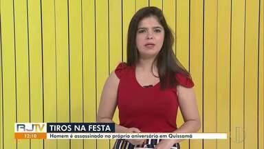 Homem é assassinado no próprio aniversário em Quissamã, no RJ - Uma rixa entre traficantes dos bairros Santa Rosa e Caxias seria o motivo do crime. Outras onze pessoas ficaram feridas.