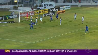 Daniel Paulista projeta vitória em casa contra o Brasil-RS - Jogo acontece nesta quarta-feira.