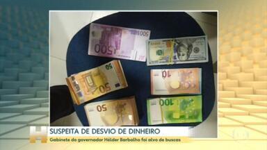 PF faz buscas contra Helder Barbalho e prende secretários em operação - Apuração é sobre contratos de administração de hospitais públicos do estado. Governo do Pará diz apoiar as investigações que busque proteger o dinheiro público.