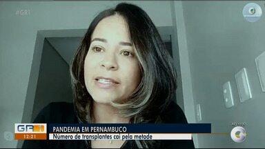 Número de transplantes de órgão cai pela metade em Pernambuco - Essa é uma notícia que preocupa quem precisa do transplante.