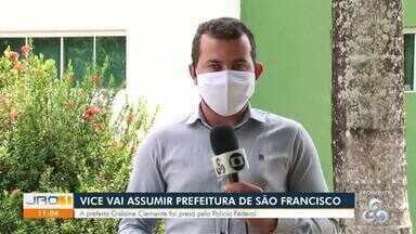 Vice vai assumir prefeitura de São Francisco do Guaporé - A prefeita Gislaine Clemente foi presa pela polícia federal.