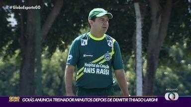 Goiás contrata Enderson Moreira para o lugar de Thiago Larghi - Diretoria esmeraldina age rápido e muda o comando técnico após empate contra o Ceará.