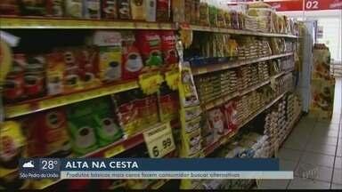 Produtos mais caros fazem consumidores buscarem alternativas - Produtos mais caros fazem consumidores buscarem alternativas