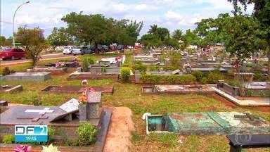 Faltam jazigos no DF - GDF procura novas áreas para construção de cemitérios.