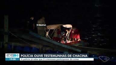 Polícia Civil procura cinco suspeitos de chacina em Vitória - Assista.