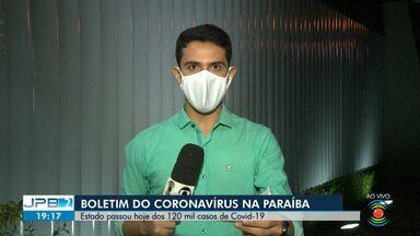 Mais de 120 mil casos de coronavírus são confirmados na Paraíba - Veja os detalhes do boletim da Secretaria de Saúde do Estado.