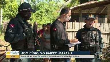 Jovem é encontrado morto em rua no bairro Mararu, em Santarém - Segundo as primeiras informações, Jobson Willer da Silva Pereira chegou a pedir socorro, mas não resistiu aos ferimentos.