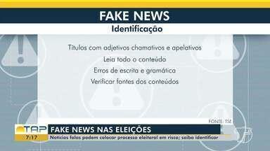 Notícias falsas podem acarretar processo eleitoral - Saiba como identificar.