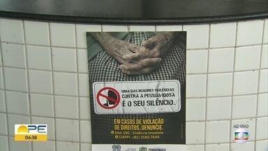 Campanha alerta para violência contra idosos - Dia Internacional da Pessoa Idosa é celebrado nesta quinta-feira (1º).